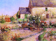 A Garden at Kervaudu