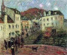 Moulin a Pont Aven - Gustave Loiseau