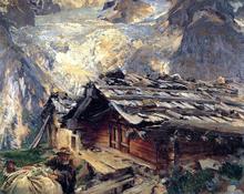 Brenva Glacier - John Singer Sargent