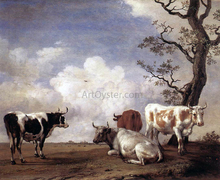 Four Bulls - Paulus Potter