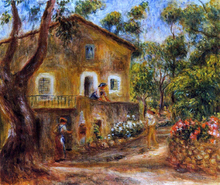 A House in Collett at Cagnes