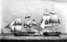 Action Between the Will of Liverpool and a French Privateer, February 21, 1804