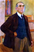 Self Portrait in a Green Waistcoat