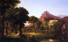 Dream of Arcadia - Thomas Cole