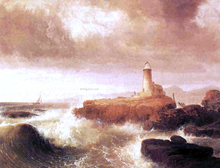 Desert Rock Lighthouse - Thomas Doughty