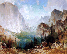 After the Storm, Yosemite Valley - Thomas Hill